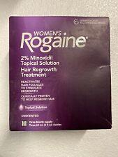 Rogaine Women Topical Solution Hair Treatment 2% Minoxidil Exp 9/2022+