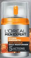 Loreal Men Expert Hydra Energetic Daily Moisturizing Lotion, 1.6 Oz