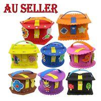 Bulk Kids Craft Kit Eva Stickers Case Party Favors Loot Bag Fillers DIY Toys