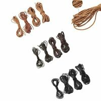 5m Cowhide Leather Jewelry Cord Round DIY Making Materia 1mm 1.5mm 2mm 3mm