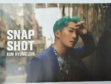 Kim Hyung Jun - Snap Shot (Single) Unfolded Official Poster Hard Tube Case