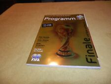 FIFA 2006 World Cup in Germany Official Programme for Final - German Edition