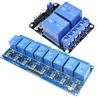 5V Eight 2/8 Channel Relay With Optocoupler Module For Arduino PIC AVR DSP ARM