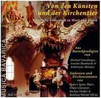 Musica Bavarica CD Von den Künsten und der Kirchenzier
