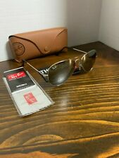 Ray-Ban Aviator Sunglasses RB3025 55mm Silver Frame Silver Mirror Lens