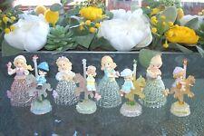 Precious Moments~4 Seasons Belles~4 Carousels~ Figurines~Four Seasons~Boxes~Euc
