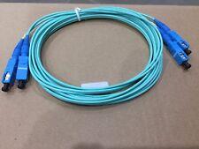 SC-SC OM3 Multimode Fibre Optic Patch Cables