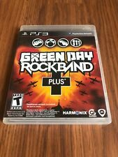 Green Day: Rock Band Plus (Sony PlayStation 3, 2010) Complete!