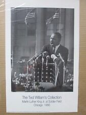 Vintage The TWC Martin Luther King Jr. at Soldier Field 1966 Poster 12488