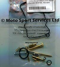 Carb Carburettor Rebuild Kit Suzuki RM 250 2001-2006 (Keihin) Jets Needle Valve