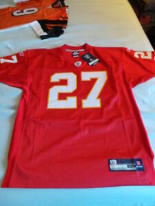 Reebok Kansas City KC Chiefs Larry Johnson LJ authentic jersey s 48 XL NWT NEW