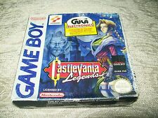 CASTLEVANIA LEGEND GAMEBOY GB PAL EURO COMPLETE WITH BOX AND MANUAL RARE