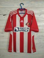 Sunderland Jersey 2012 2013 Home M Shirt Mens Trikot Camiseta Football Adidas