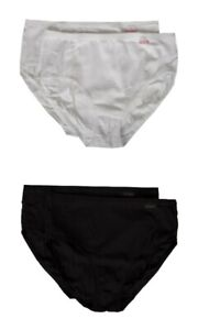 Pack of 2 woman briefs bielastic ribbed cotton bipack NOTTINGHAM article MAXI340