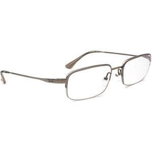 Ray-Ban Eyeglasses RB 8632 1000 Titanium Silver Half Rim Frame 54[]18 145