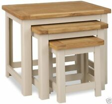 Less than 60cm Height Pine Contemporary Nested Tables
