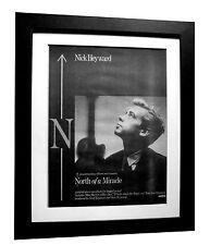 NICK HEYWARD+North Miracle+POSTER+AD+RARE ORIGINAL 1983+FRAMED+FAST GLOBAL SHIP