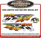 1997 ARCTIC CAT ZRT 600 DECAL KIT , REPRODUCTIONS GRAPHICS