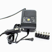 121AV Universal In Car Multi - Voltage DC to DC Power Adapter for Notebooks