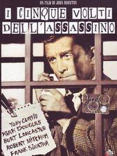 Dvd I cinque volti dell'assassino **Tony Curtis - Kirk Douglas - Burt**...NUOVO