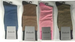1 Pair of Pantherella Men's Striped Socks Size Medium NWT - Choose Your Color