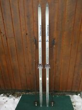 """GREAT Ready to Use Cross Country 73"""" Long FISCHER 190 cm Skis + Poles"""