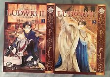 Ludwig II Vol. 1 & 2 by You Higuri Yaoi Manga in English