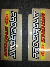 Universel Pro Circuit Showa motocross fourche supérieure graphique