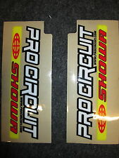 Universal Pro Circuit Showa motocross upper fork graphic decal sticker set SH003