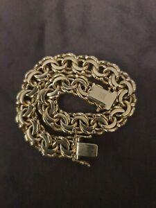 Armband 585 Gold Sehr Massiv 43.8g                FBM Stempel