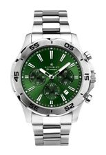 Accurist Gents Green Chronograph Dial Watch 7258