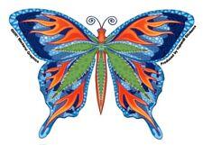Cannabis Thc Butterfly Marijuana Vinyl Bumper Sticker Car Decal