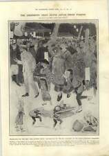 1910 Festival Of The Rice Harvest Celebrated At The Anglo Japanese Exhibition,