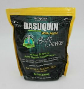 OPENED Dasuquin with MSM for Small/Medium Dogs (84? Soft Chews) Joint Supplement