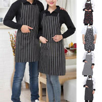 Men Women Adjustable Bib Apron Cooking Kitchen/Restaurant Chef Dress Pocket Sale