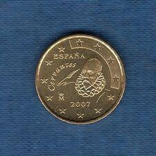 Espagne - 2007 - 10 centimes d'euro - Pièce neuve de rouleau -