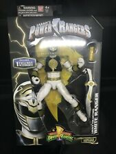 "WHITE RANGER Legacy Collection Figure 6"" inch Mighty Morphin Power Rangers MMPR"