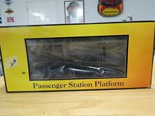 MTH Rail King O Gauge 30-9006 Pass. Station Platform, Gray Roof & Brown Base C-9
