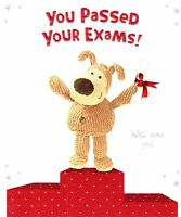 Boofle You Passed Your Exams Congratulations Card Official Boofle Greeting Cards
