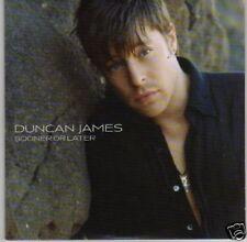 (L350) Duncan James, Sooner or Later - DJ CD