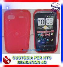 Pellicola+Custodia EYE ROSSA per HTC Sensation 4G