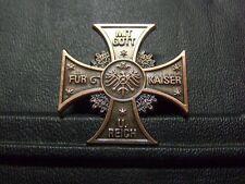 Pin Mit Gott für Kaiser und Reich - 3,5 x 3,5 cm
