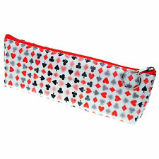 Lenticular Color-Changing Poker Playing Card Pattern Pencil Case #Sobre-014#