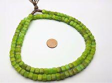 Grüne böhmische Würfel Perlen cube Glasperlen
