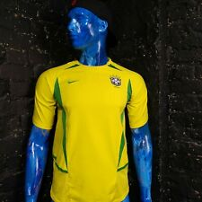 Brazil Jersey Home football shirt 2002 - 2004 Nike Trikot Size Young XL