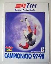 ALBUM CALCIATORI CALCIO 2000 - CAMPIONATO 97-98 - VUOTO - EMPTY - DA EDICOLA