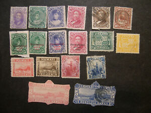 Hawaii stamp collection HZ4