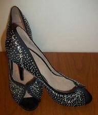 Faith Stiletto Peep Toes Standard Width (D) Heels for Women