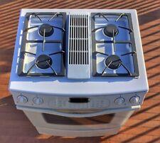 """White Jenn-Air Dual Fuel Downdraft Range / Oven / Stove - 30"""" - FREE SHIPPING"""