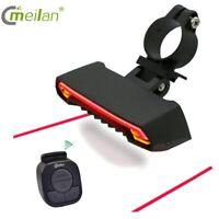 LED CMeilan X5-B Fahrrad Beleuchtung Set Licht Scheinwerfer Rücklicht Lampe DE